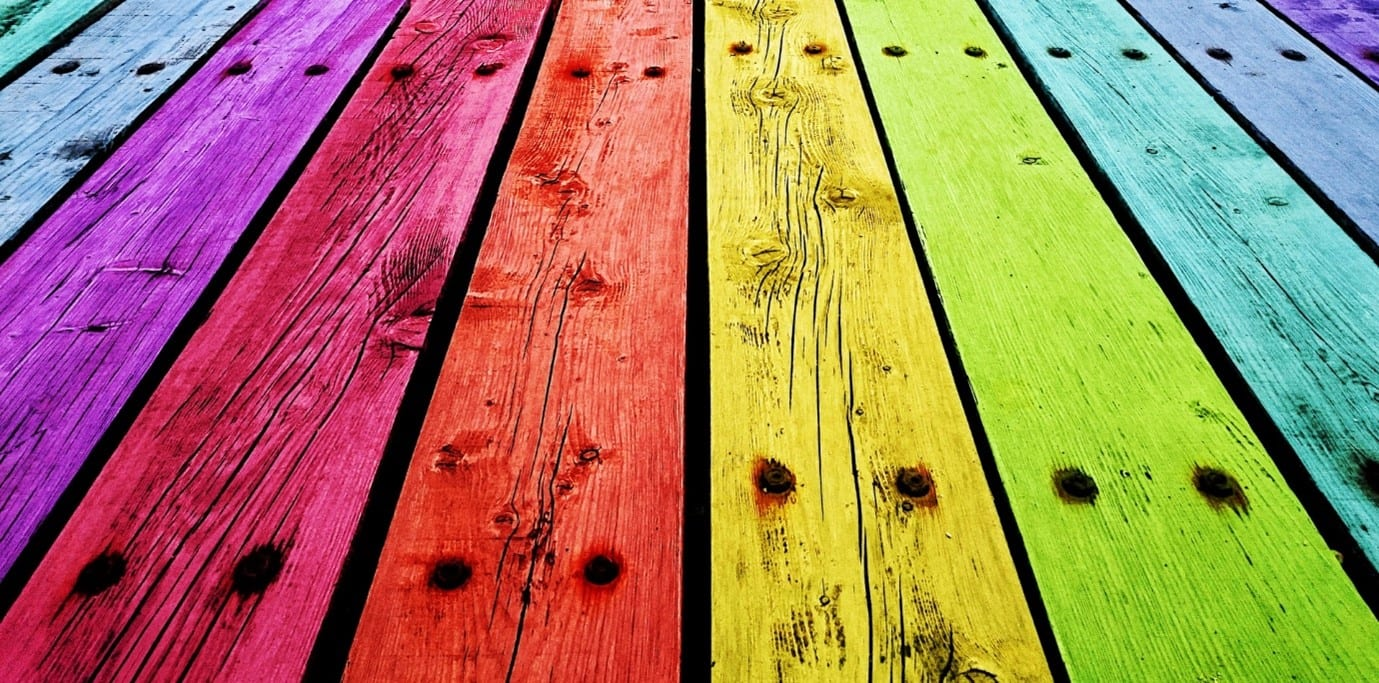 What kind of paint can you use on composite decking?