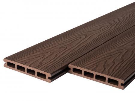 Wood Grain Victorian Brown Composite Decking Boards