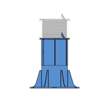 Fixed Head Adjustable Pedestal 205-315mm